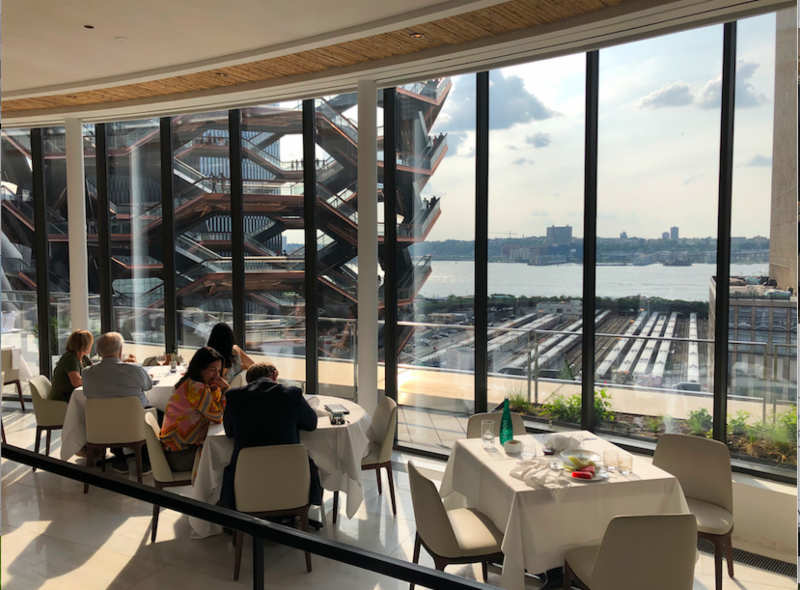 Joyful Plate: Food & Fashion are simpatico at the new Hudson Yards, NYC
