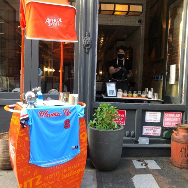 Keeping strong, carrying on with food and hospitality in NYC